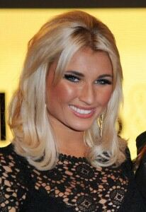 Billie Faiers dresses down in leopard print leggings