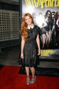 Bella Thorne tries sheer socks at premiere