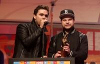 Ben caps great night at NME Awards