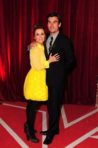 Black and yellow look for Zoe Henry