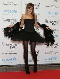 Black Swan Jemima at UNICEF ball