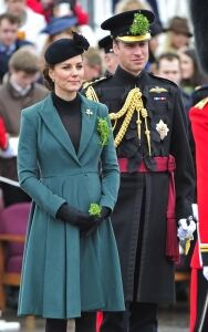 Black tights for Kate at parade