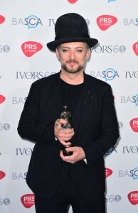 Boy George and Clean Bandit win gongs