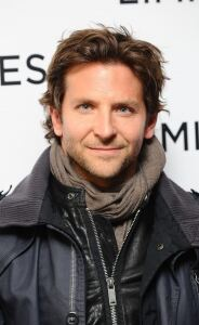 Bradley Cooper models men's scarf
