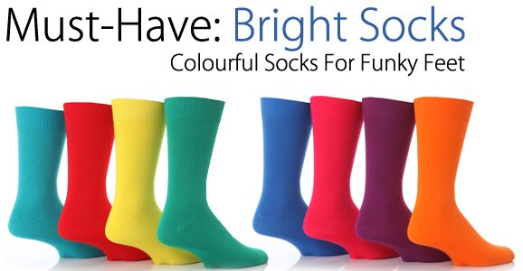 Bright Socks at SockShop