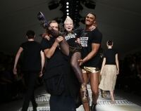 Catwalk fun at fashion fundraiser