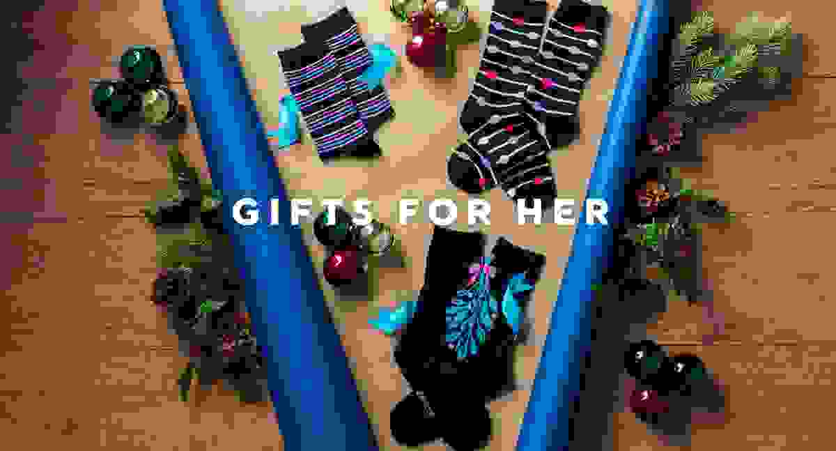 Gifts for Her from SOCKSHOP