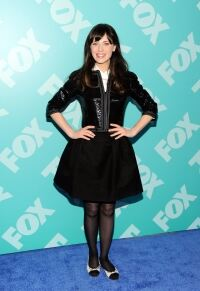 Classic Deschanel at FOX Upfront do