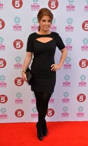 Coleen in tights for Mum Awards