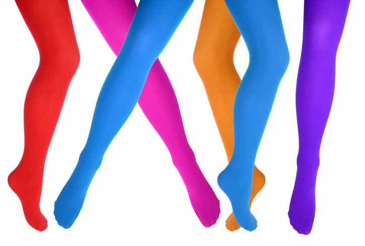 Colourful Tights