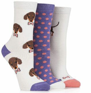 Just For Fun Ladies - Dachshund Dog Socks