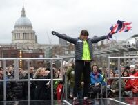 Davina dons active wear for charity