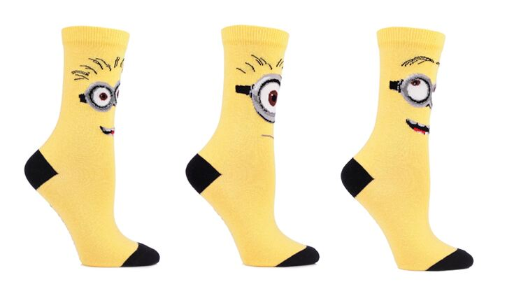 Despicable Me Minions character socks