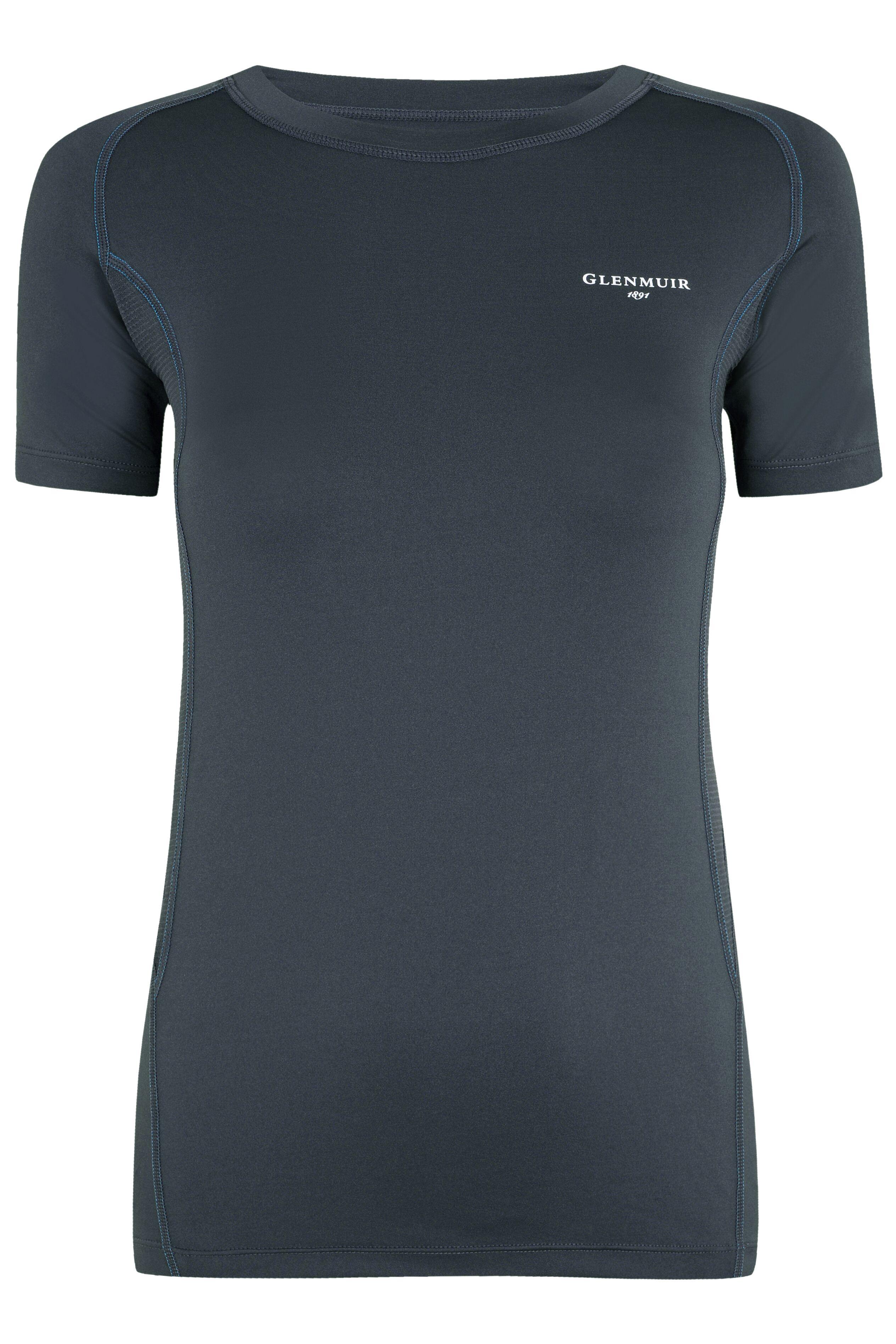 Image of 1 Pack Grey Short Sleeved Compression Base Layer T-Shirt Ladies 10-12 Ladies - Glenmuir