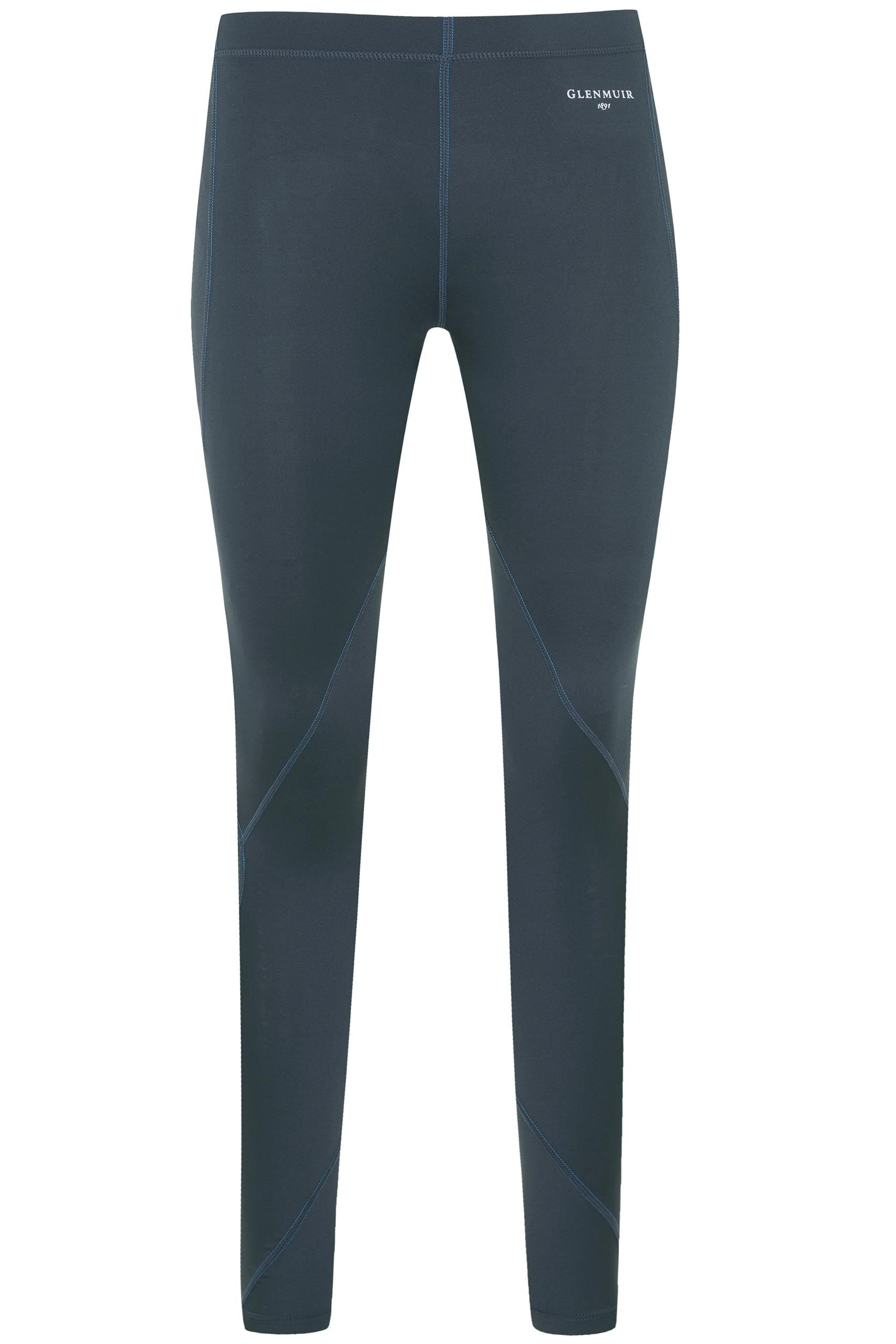 Image of 1 Pack Grey Compression Base Layer Leggings Ladies 12-14 Ladies - Glenmuir