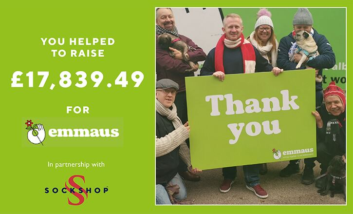 Thank you for helping Emmaus