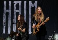 Este Haim rocks black leggings