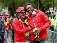 FA Cup winners turn party animals