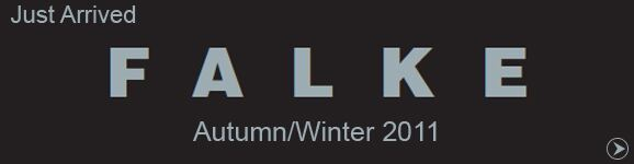 Just Arrived... Autumn/Winter 2011 Falke Items
