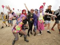 Fashion tights loved best of all at Bestival