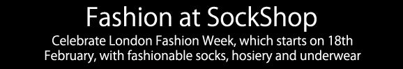 Fashionable Socks, Hosiery and Underwear at SockShop
