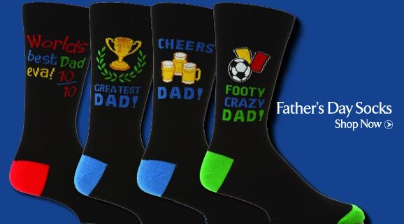 Father's Day Socks at SockShop
