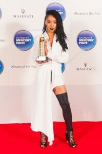 FKA twigs socks it to 'em at awards