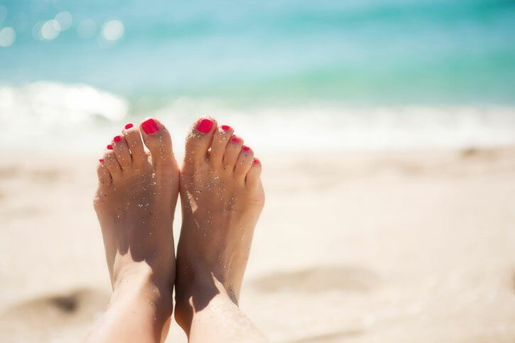 Footcare tips for summer feet