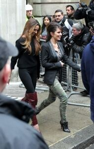 Girls Aloud opt for tight leggings