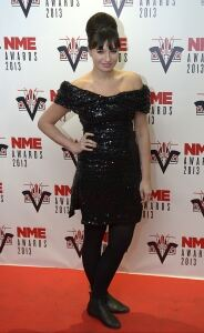 Gizzi sticks to tights at NME bash