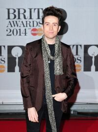 Grimmy dons leopard print at Brits