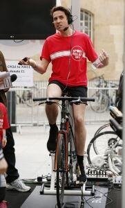Grimmy gets active for charity