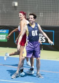 Grimmy's Allstars take a thrashing