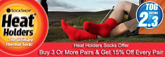 Heat Holders Socks Offer >