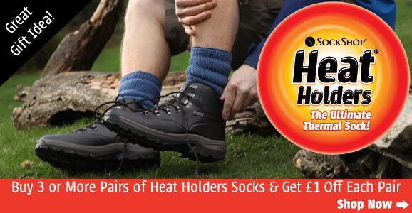 Heat Holders Thermal Socks at SockShop