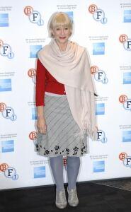 Helen Mirren models shades of grey