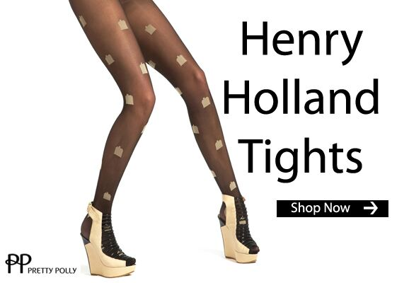 Click Here for Pretty Polly Henry Holland Tights at SockShop