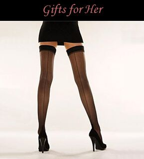 Valentine's Day Gifts for Her at SockShop.co.uk- Stockings, Hold Ups, Hosiery, Socks, Luxury Socks
