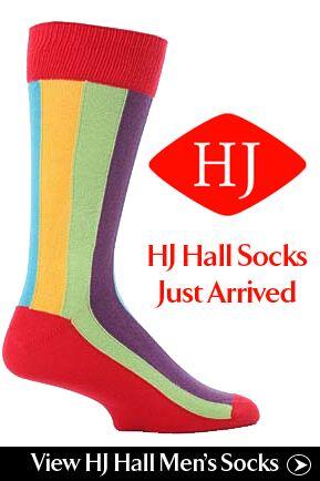 Just Arrived... HJ Hall Socks at SockShop