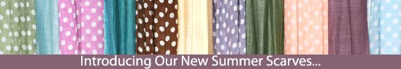 Click Here to View Our New Summer Scarves at SockShop.co.uk