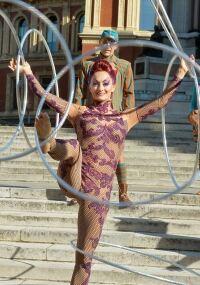 Irina dances into practice