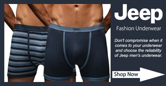 Jeep Underwear at SockShop