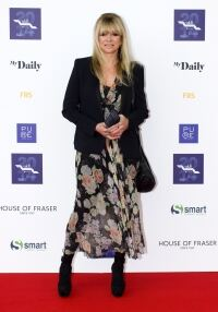Jo Wood opts for tights again
