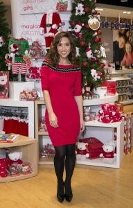 Klassy Myleene at Mothercare launch
