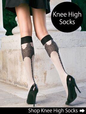 CLICK HERE - Shop For Knee High Socks at SockShop