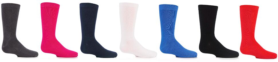 Kids' Smooth Toe Seam Sock Colours