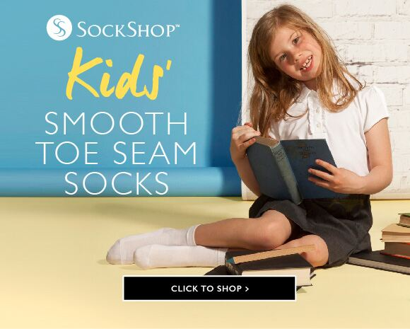 Kids' Smooth Toe Seams