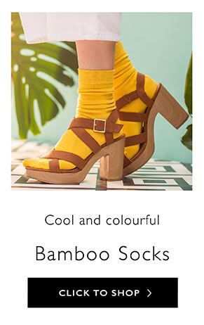 Ladies Bamboo Socks at SockShop.co.uk- Plain Bamboo Socks, Knee High Bamboo Socks, Over the Knee Bamboo Socks, Patterned Bamboo Socks, Bamboo Trainer Liners