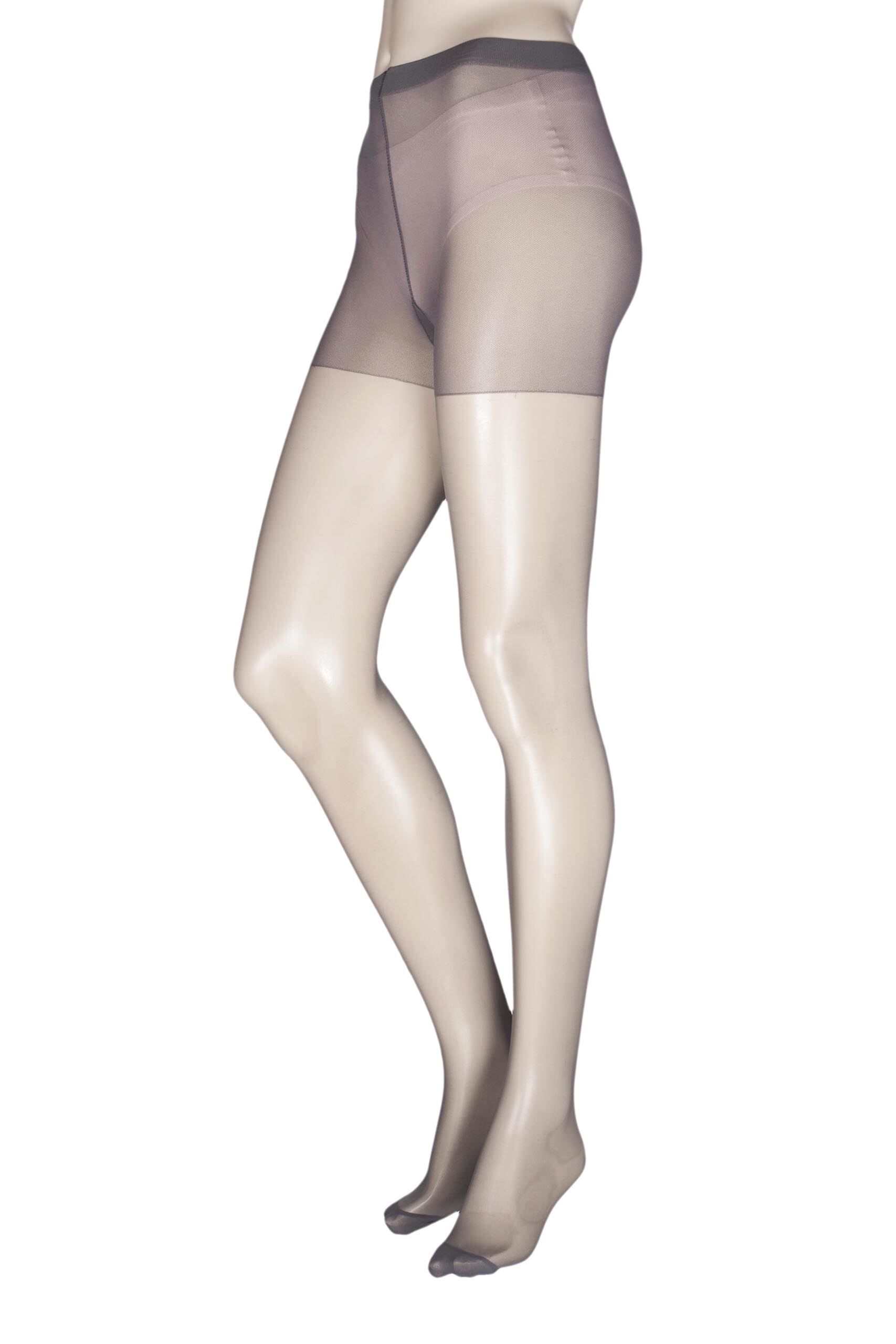 Image of 1 Pair Anthracite Class Tights Ladies Extra Tall - Levante