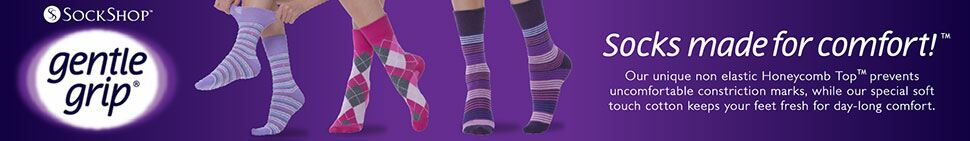 Gentle Grip Ladies' Socks